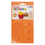 Moule pour Gomme à modeler Patagom Junk Food