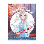 Album La Reine des Neiges 2 Cherche et colorie