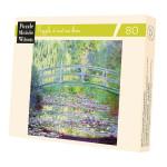 Puzzle d'art en bois 30 pièces Monet Le pont japonais