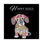 Illustrations à colorier Happy dogs !