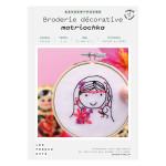 Kit savoir-faire Broderie décorative matriochka