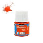 Peinture textile opaque Setacolor 45ml - 12 - Orange