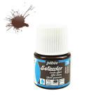 Peinture textile Setacolor effet daim 45 ml - 316 - Marron