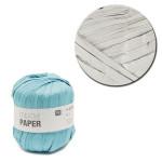 Creative Paper - Papier à crocheter - Argent - 55 m
