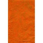 Feuille Décopatch - Orange craquelé - 30 x 40 cm