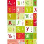 Feuille Décopatch - Alphabet - 30 x 40 cm