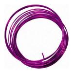 Fil aluminium d. 2.5 mm - 5 m - Violet foncé