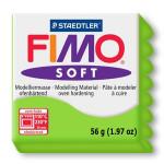 Pâte polymère Fimo Soft 57 g - 50 - Vert pomme