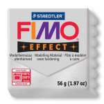 Pâte polymère Fimo Effect 56g - 81 - Argent métallique