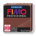 Pâte polymère Fimo Pro 85 g - 77 - Chocolat