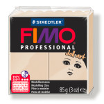Pâte polymère Fimo Pro Doll Art 85 g - 78 - Nougat
