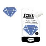 Peinture pailletée Izink Diamond 80 ml - Bleu