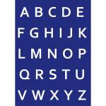My style - Pochoir A4 - Alphabet lettres majuscules