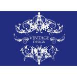 My style - Pochoir A4 - Vintage Design