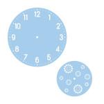 Kit pochoirs pour horloge chiffre arabes