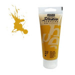 Peinture acrylique étude Studio 100ml - 27 - Ocre jaune