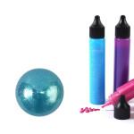 Peinture 3D Slow & Art 30 ml Nacré - Bleu