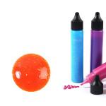 Peinture 3D Slow & Art 30 ml Pailletée - Orange