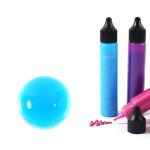 Peinture 3D Slow & Art 30 ml Translucide - Bleu clair