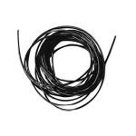 Fil élastique noir Ø 0,5 mm x 2 m
