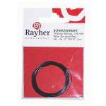 Fil cable argenté Ø 0,4 mm x 2 m