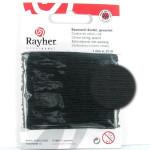 Fil de coton ciré 1 mm x 20 m - Noir