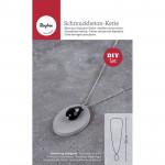 Kit de béton pour bijouterie - collier ovale
