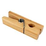 Pince à linge géante en bois - 14 x 4,5 x 5 cm