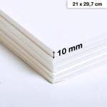 Carton mousse 10mm - 21 x 29,7 cm
