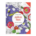 Livre Jardin en fleurs 100 dessins à colorier
