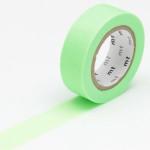 Masking tape uni vert fluo