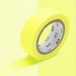 Masking Tape Uni jaune fluo