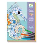 Atelier feutres et crayons L'art du motif