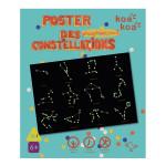 Coffret d'activité Dessine poster des constellations phosphorescent