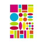 Gommettes Baby géométriques couleurs vives