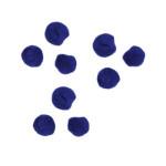 Pompons 7mm set de 70 - Bleu