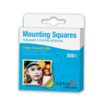 Pastilles adhésives repositionnables carrées 10mm 500 pièces