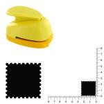 Grande perforatrice - Timbre poste 1 - 2.5 cm