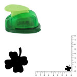 Petite perforatrice - Trèfle 4 feuilles - Env 1.5 cm