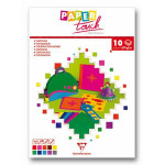 Bloc papier couleur 10f. - 270g - Assortiment - A4