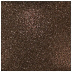 Papier pailleté brun foncé 30x30cm