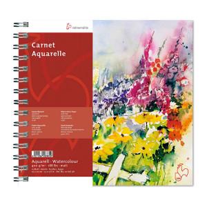 Carnet aquarelle 19 x 20 cm - 400 g/m²
