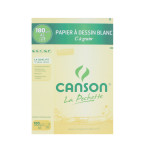 Canson C à GRAIN, Grain Fin 180g/m², pochette - 21 x 29,7 cm (A4)