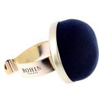Bracelet pelote velours
