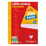 Copies doubles A4 Grands carreaux 300 pages