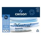 Bloc de papier aquarelle Montval 300 g/m² grain fin - 19 x 24 cm