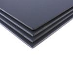 Lot de 4 cartons mousse noir mat format A3 5 mm