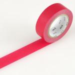 Masking tape uni rouge vif