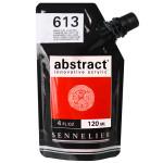 Peinture acrylique fine Abstract 120 ml - 208 Terre de Sienne naturelle *** O
