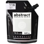 Peinture acrylique fine Abstract 500 ml - 759 - Noir De Mars